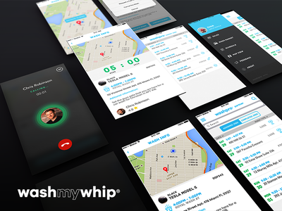 WashMyWhip Partner Mobile App perspective wmw washmywhip friendly eco carwash ios