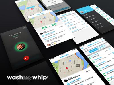 WashMyWhip Partner Mobile App