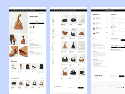 E-commerce online shop ui ux shopify online shopping app interaction design interaction product page filter ui webdesig check out fashion store fashion app ecommerce business online shopping online store ecommerce app shopping ecommerce ecommerce shop