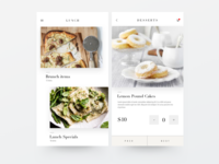 Food Menu App