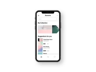 Phone Home Screen UI