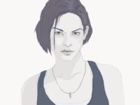 Jill Valentine gaming pc xbox playstation game illustration character