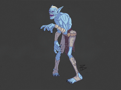 Withered horde azeroth world of warcraft character game withered photoshop illustration