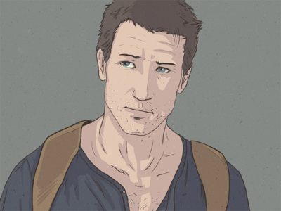 Nathan Drake playstation uncharted character game drake photoshop illustration