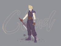 Cloud Strife (Colour)