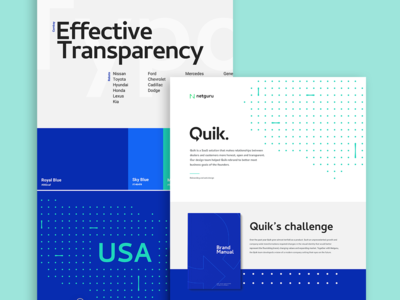Quik - Behance Case Study key visual website web design redesign logotype corporate identity automotive branding logo