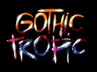 Gothic Tropic lettering exercise