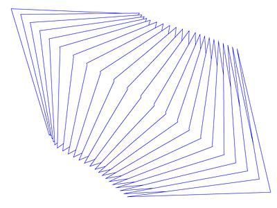 Static formulation arrangement line machine art abstact blend illustration