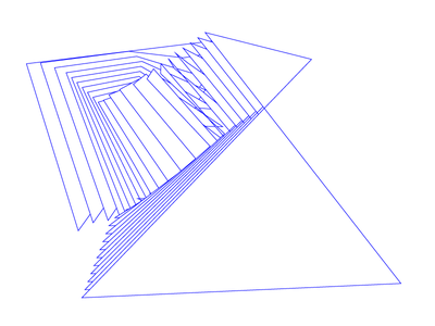 Introspection formulation arrangement line machine art abstract blend illustration
