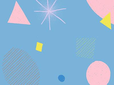 Sensory astronomics [gestation phase] pastel abstract illustration
