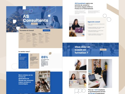 AS Consultants website consulting