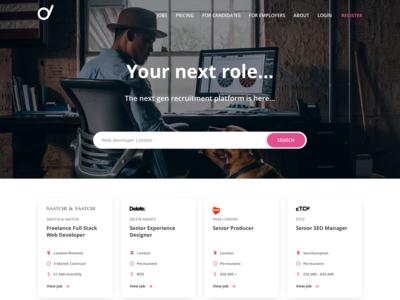 Recruitment Web Design