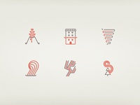 Disasters icons
