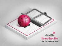 Free dribbble invite designers trap)