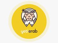 Logotype for Yeti Crab