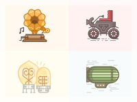 20 century icons / 1900s