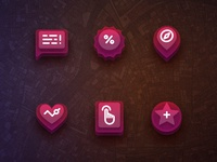 Wine Candy / Feature Icons