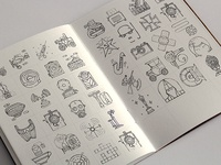 The icons from the past. Some sketches