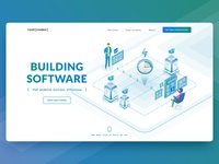 Root { Codex } Software Developer's website redesign