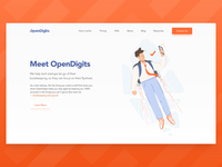 Landing Page Illustration Transitions