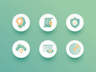 Website Icons / Payroll, HR, Benefits software developer bookkeeping website software developer benefits hr payroll icon set landing page icons