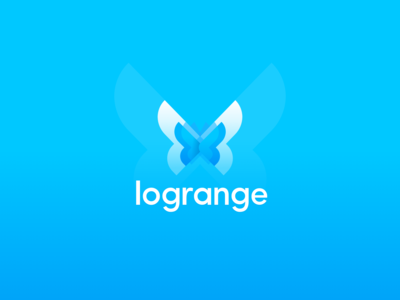 Butterfly Logotype. Logrange streaming database.