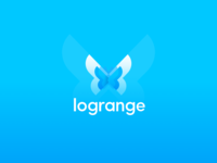 Butterfly Logotype. Logrange streaming database.
