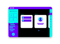 Vibrant Wireframing Tool