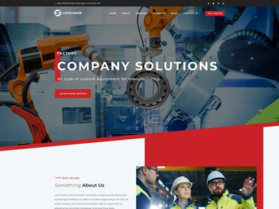 Manufacturing Homepage