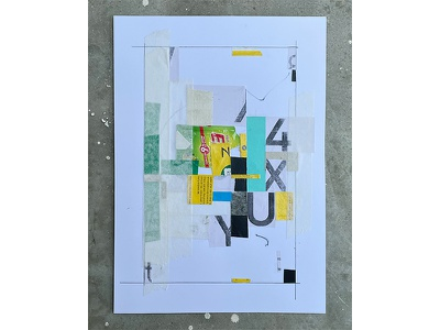 'FOR YOU' design typography art composition collageart graphic design collage