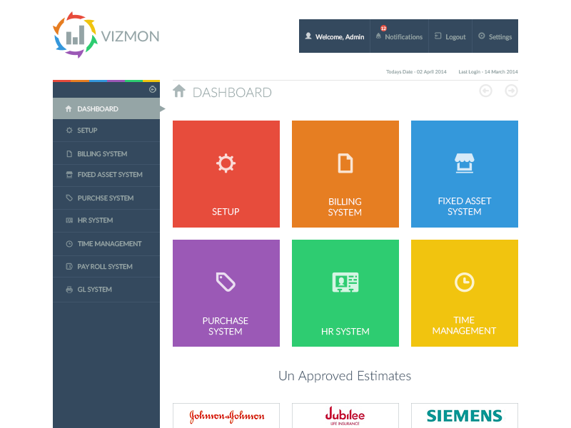Vizmon Dashboard Ui By Umair Ulhaque Dribbble Dribbble