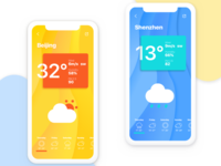 Weather App Interface-Concept