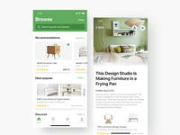 Furniture e-commerce APP