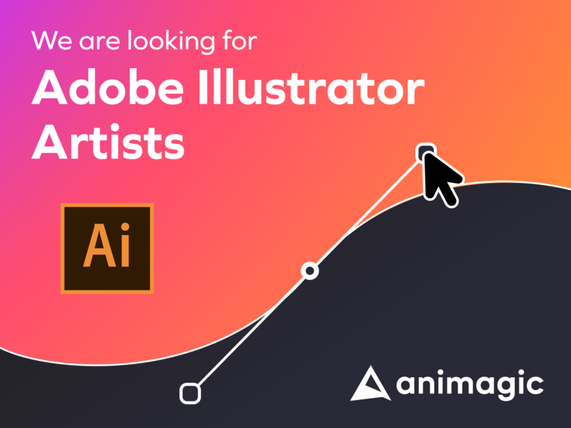 We are looking illustrators! vector design character illustration animation