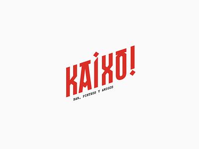 Kaixo! - Branding vector art logo design logo logotype logodesign brand branding brand design brand identity branding design identity typography typography design typography logo clean minimal minimalist logo concept concept design