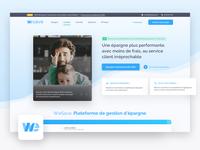 WeSave | HomePage Redesign