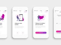 Mobile UI | Simple Onboarding