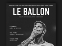 Editorial Design - LeBallon Magazine