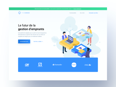 Hero section | LandingPage hero section clean ui ui whitespace app product page financial app financial minimal landing design landing page landing banking clean fintech