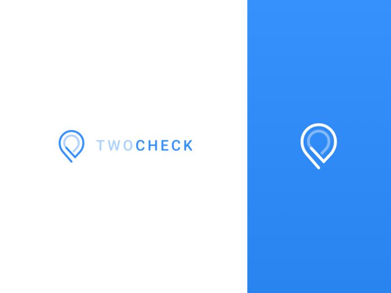 TwoCheck   Branding symbol design symbol icon logo design logodesign logotype branding design brand design brand identity brand design branding logo illustration clean minimal financial fintech