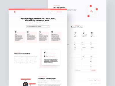 Klapser | LandingPage 2k19 hero whitespace product design landing page design design product desktop landingpage clean web landing minimal app ui