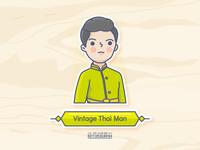 Vintage Thai Man