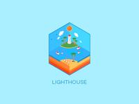 Isometric : Lighthouse