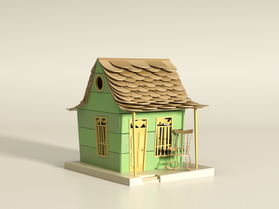Virtual Expo Nuestros Barrios 3/4 3d artist 3d art lowpolyart octane lowpoly art render illustration cinema4d 3d