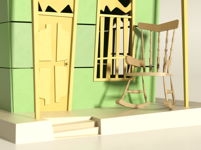 Virtual Expo Nuestros Barrios 4/4 3d artist 3d art lowpolyart octane lowpoly art render illustration cinema4d 3d