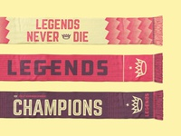 Legends Scarfs