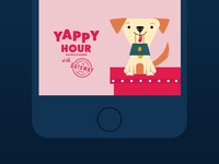 Yappy Hour snapchat filter