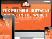 Tough Mudder Responsive About Page (Capstone