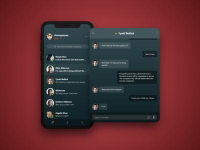 #DailyUI 13 — Direct Messaging