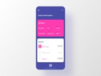 #DailyUI Special — Train Ticket App